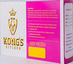 Kong's Kitchen Dog Food Mighty Meals For Small Breeds - 1.2 Kgs