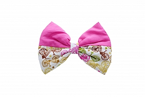 Mutt of Course Life on the Wheels Bow Tie