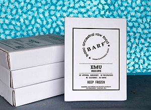 BARF Emu Dog Food Recipe  - 4 kg