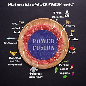 Kong's Kitchen Dog Food Power Fusion - 1.2 Kgs
