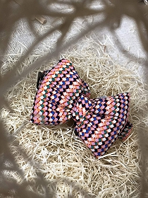 Mutt of Course Toffee Dog Bow Tie- Medium