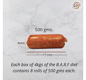 BARF Weight Joint Pro Dog Food Recipe - 4 kg