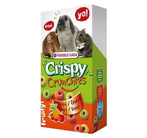 Versele Laga Crispy Crunchies Fruit Rings - 75 gm