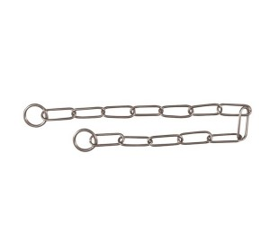 Trixie Dog Long Link Choke Chain Stainless Steel - Large - 4.0 mm