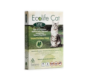 Ecolife Cat Care Spot On - Large