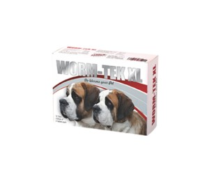 Wormtek XL Dewormer For Dog- 12 Tablets