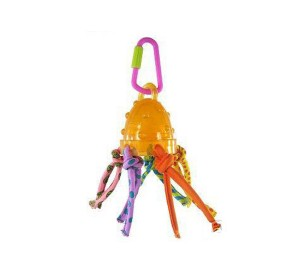 Petstages Dome Pull Bird Toy