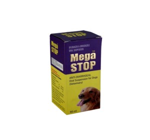 Mega Stop Anti-Diarrhoeal Oral Suspension For Dog - 60 ml