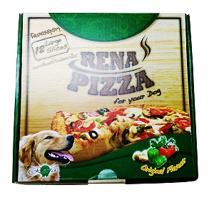 Rena Dog Pizza - 12 Large Slices
