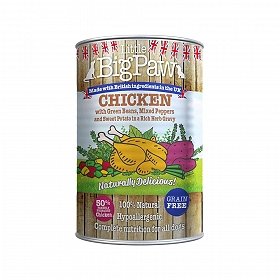 Little Big Paw Chicken With Green Beans, Mixed Peppers & Sweet Potato Dog Food- 390 gm (Pack of 12)