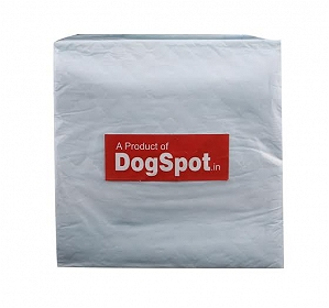 DogSpot Puppy Toilet Tray Orange with Training Pad