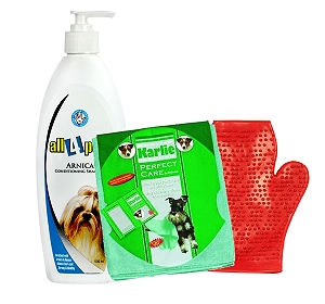 Arnica Conditioning Pet Shampoo - 500 ml With Glove & Towel