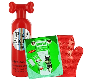 Pet Head Life's an Itch Soothing Dog Shampoo - 475 ml With Glove & Towel