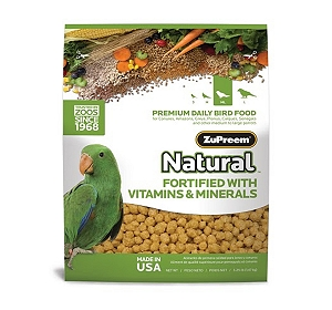 ZuPreem Natural For Medium & Large Parrot - 1.36 Kg