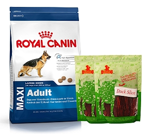 Royal Canin Maxi Adult - 4 Kg  With Duck Slices