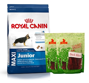 Royal Canin Maxi Junior - 4 Kg  With Duck Slices