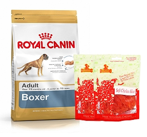Royal Canin Boxer Adult - 3 Kg  With Chicken Slices