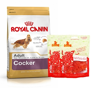 Royal Canin Cocker Adult - 3 Kg  With Chicken Slices