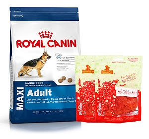 Royal Canin Maxi Adult - 4 Kg  With Chicken Slices