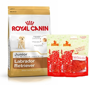 Royal Canin Labrador Junior - 3 Kg  With Chicken Slices