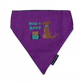 Mutt Of Course Wag-A-Bond Bandana - Medium