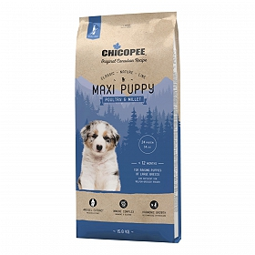 Chicopee Classic Nature Line Dry Dog Food Maxi Puppy Poultry & Millet- 2 Kg