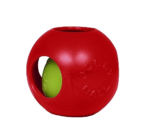 Jolly Pets Teaser Ball Dog Toy Red - 15.24 cm