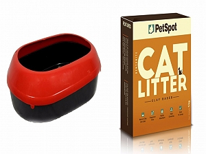 PetSpot Cat Litter - 5 kg with Cat Litter Tray