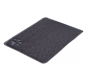 Trixie Cat Litter Tray Mat Dark Grey - 38 x 45.7 Cm