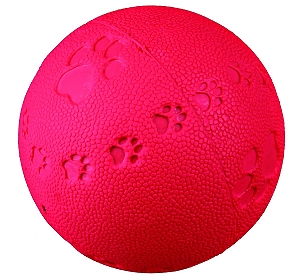 Trixie Natural Rubber Bouncy Ball Toy - 7 CM