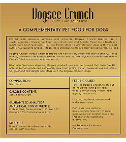 Dogsee Crunch Beetroot Flavoured Freeze Dried Treats Dog Treat -30 gm
