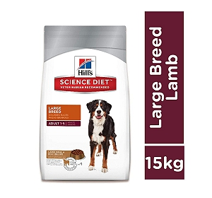 Hill's Science Diet Adult Large Breed Lamb & Rice Dry Dog Food - 15 Kg