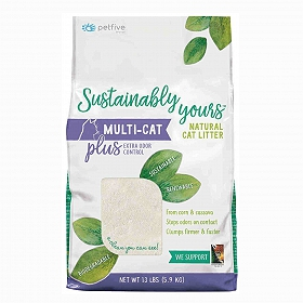Sustainably Yours Multi-Cat  Litter Plus - 5.9 Kg
