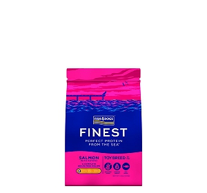 Fish4Dogs Finest Salmon Toy Breed Adult Dog Food - 1.5 Kg