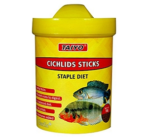 Taiyo Cichilds Sticks Fish Food - 50 gm