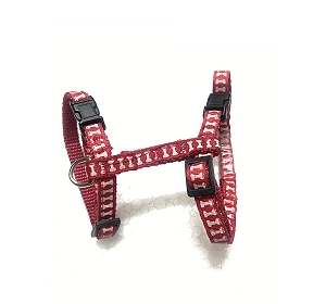 CatSpot Printed Cat Harness - Red