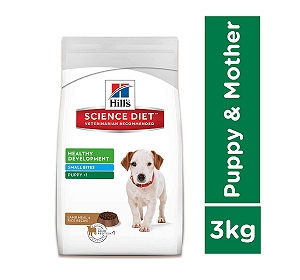 Hill's Science Diet Puppy Small Bites Lamb And Rice Dry Dog Food - 3 Kg