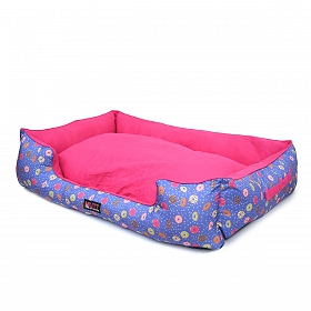 Mutt Of Course Lounger Bed For Dogs - Donnut Disturb - Xlarge