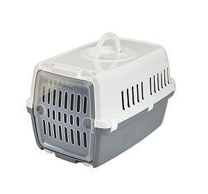 Savic Zephos 1 Pet Carrier (LxBxH - 48X31.5X30 cm) - Grey
