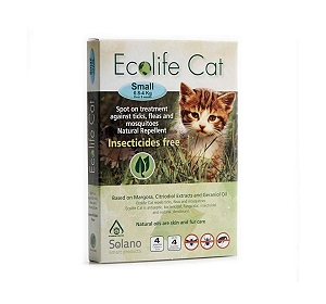Ecolife Cat Care Spot On - Small