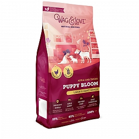 Wag & Love Grain Free Puppy Bloom Large & Giant Breed Sample Food- 100 gm