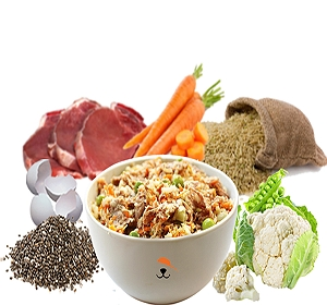 FurrMeals Chunky Lamb & Brown Rice Home cooked Adult Dog Food - 3 kg