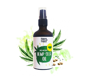 Happy Puppy Organics Hemp Seed Oil- 100ml