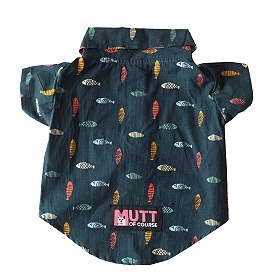 Mutt of Course Fishes in the Sea Shirt for Dogs- 3XL
