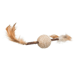 Trixie Matatabi Feather Game Cat Toy - 20 CM