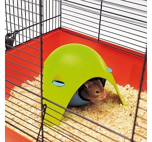 Savic Sputnik Funhouse for Hamsters - (LxBxH - 22x22x13) cm