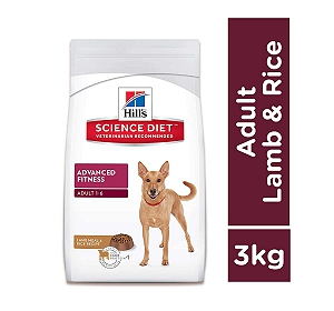 Hill's Science Diet Adult Lamb & Rice Dry Dog Food - 3 Kg