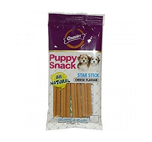 Gnawlers Star Stick Cheese Dog Treat - 400 gm