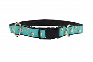 Mutt of Course Eggs & Bacon Collar for Dogs- Medium