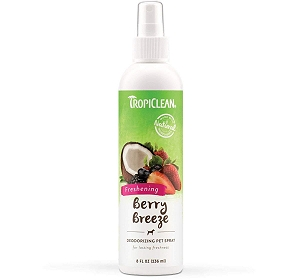 Tropiclean Berry Breeze Fresh Pet Cologne Spray - 236 ml
